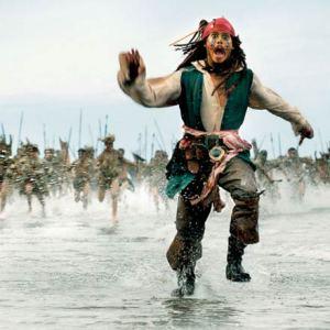 Johnny Depp interpretó al capitan Jack Sparrow en la saga de los Piratas del Caribe