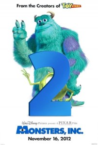 Imagen promocional para Monsters University previo al cambio de fecha