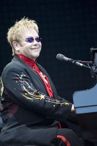 Elton John (Foto por/Picture By Richard Mushet)