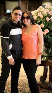 Elvis Crespo y su Pareja (FOTO SUMINISTRADA)