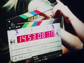 Lo unico que se conoce del cortometraje de Lady GaGa (Photo taken from Nicola Formichetti/Mugler film backstage)