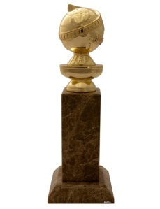 La estatua (premio) Golden Globe (Globo de Oro)