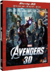 Portada del DVD/BLU RAY de The Avengers
