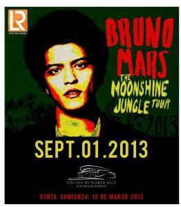 El cantante Bruno Mars ya tiene fecha para su regreso a Puerto Rico (Suministrada/Lincoln Road Productions)
