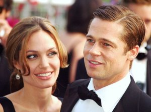 Angelina Jolie y Brad Pitt (2007) (Picture by Georges Biard)