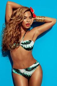 Beyoncé Bikini summer 2013 ad for H &M stores.  Copyright:  H &M (2013)