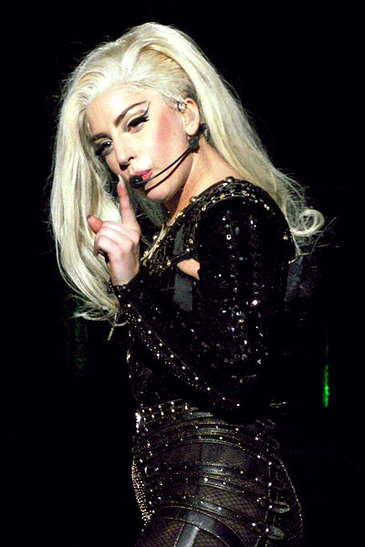 Lady GaGa (Picture by Yne Van De Mergel)