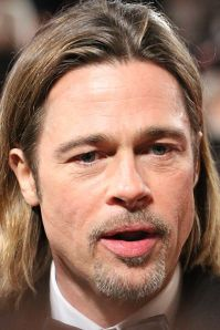 Brad Pitt (Picture by Paul Bird)