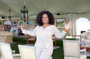 Oprah (Picture from her Official Facebook Page)