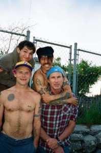 Red Hot Chili Peppers (Picture by Clara Balzary  for http://redhotchilipeppers.com)