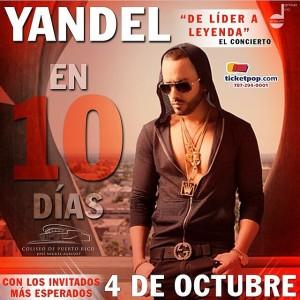 Promo del concierto de Yandel
