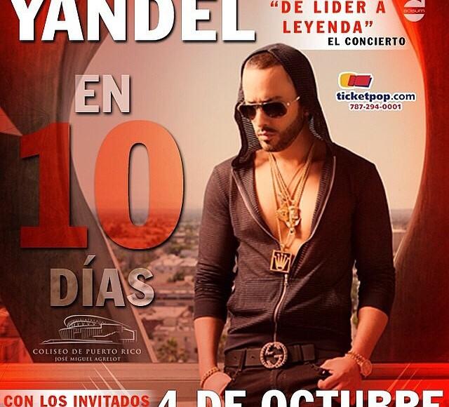 promocion del concierto solista de Yandel (2010)