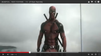"Captura de pantalla del metraje de prueba de ""Deadpool"" la película.  (Copyright: 2013 20th Century Fox/Marvel Comics)"