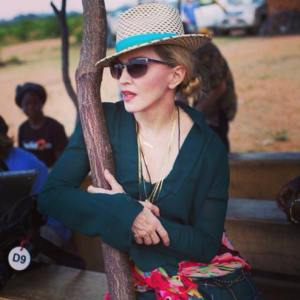 La cantante, actriz y directora de cine Madonna