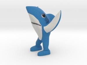 La figura 3D del tiburón http://www.thingiverse.com/thing:667127
