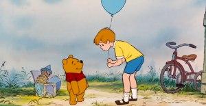 Winnie the Pooh y su amigo Christopher Robin