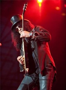 Slash (Picture from his Official Facebook fan page)