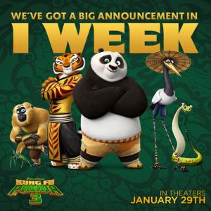 Tenemos un gran anuncio:  ¡Dentro de una semana!