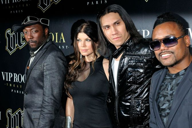 Black Eyed Peas (Foto por Nicolas Genin)