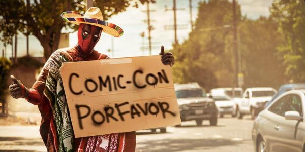 Imagen sobre Deadpool lanzada en la víspera del San Diego Comic-Con 2015