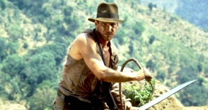 INDIANA JONES AND THE TEMPLE OF DOOM, Harrison Ford, 1984, (c) Paramount/courtesy Everett Collection