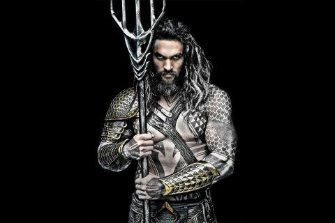 Jason Mamoa como Aquaman (2018)
