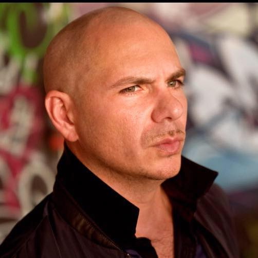 El cantante Pitbull