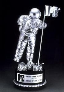 El premio VMA Man on the Moon
