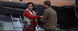 Oscar Issac interpretando al piloto de la resistencia Poe Dameron en Guerra de las Galaxias episodio 7