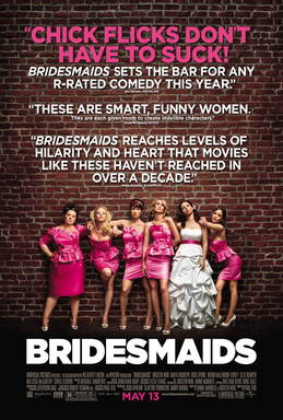 Poster cartel promocional de bridesmaids