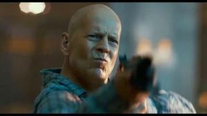 Bruce Willis en Duro de matar: Un buen día para morir