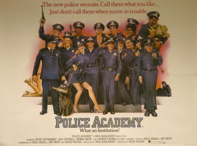 Loca academia de policía o Locademia de policía (Police Academy)