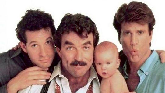 Tres hombres y un bebé, cuyo título original es Three Men and a Baby, es una comedia del año 1987 dirigida por Leonard Nimoy y con Tom Selleck, Steve Guttenberg y Ted Danson como actores principales.