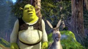 Shrek y el Burro