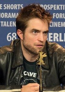 el actor britanico Robert Pattinson