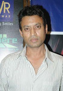 El actor indio Irrfan Khan