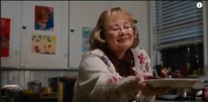 La actriz Shirley Knight en el filme Paul Blart Mall Cop