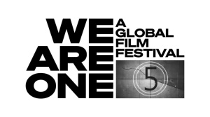 Logo del festival de cine online WE ARE ONE A GLOBAL FILM FESTIVAL