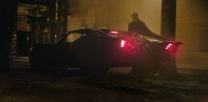 Imagen del nuevo Bati-movil vehiculo de Batman en THE BATMAN (2021)