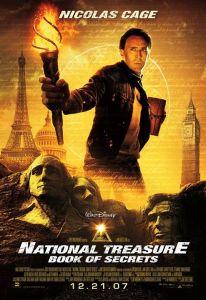 Poster (cartel promocional) de la película National Treasure (La leyenda del tesoro perdido)