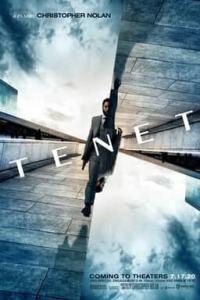 Cartel (poster) promocional de TENET