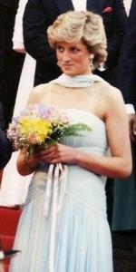 La princesa Diana de Gales tambien conocida como Lady Di