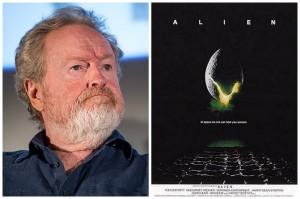 Alien fue la segunda película que el director británico Ridley Scott dirigió en su carrera
