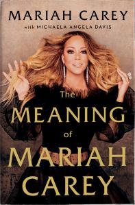 Portada del libro biografico de Mariah Carey