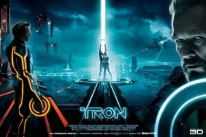Cartel Promocional (Poster) de Tron 2 Legacy