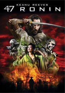 47 la Leyenda del samurai cartel promocional. fue un fracaso taquillero pero Netflix tendrá la secuela