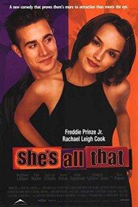 """El poster de la película de comedia romantica """"Ella es asi"""" (1999)"""
