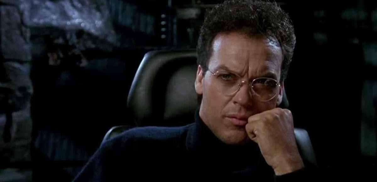 Michael Keaton interpretando a Bruce Wayne/Batman en Batman 1989