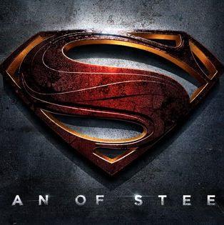 El logo de superman en Man of Steel