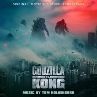 Portada de la banda sonora de la película Godzilla vs Kong